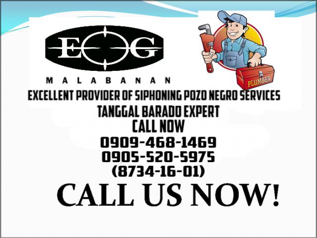 Malabanan Siphoning Pozo negro & tanggal barado Expert Services 09094681469