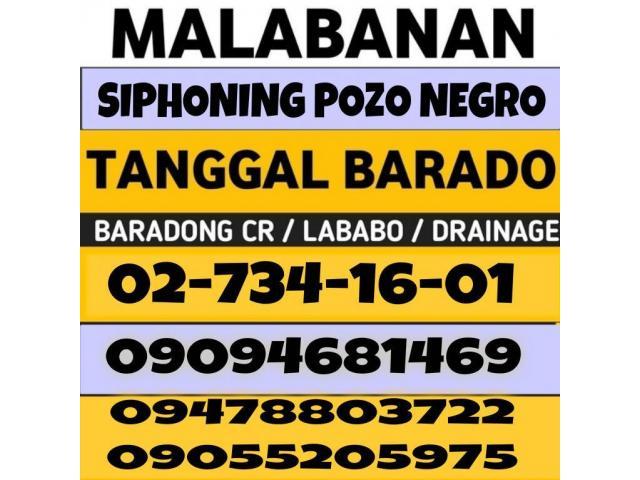 Malabanan Siphoning Pozo negro and plumbing services 7341601 09094681469 09478803722