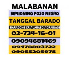 Malabanan Siphoning Pozo negro and plumbing services 7341601 09094681469 09478803722